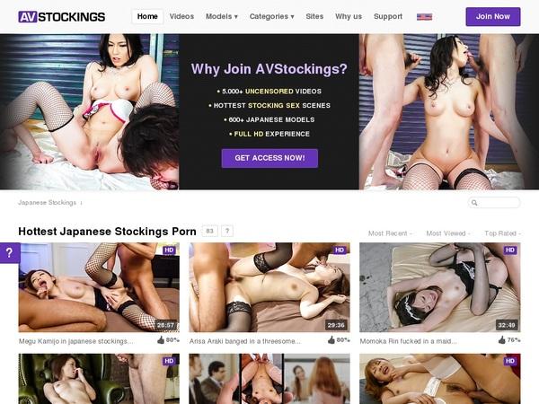 AV Stockings Get Access