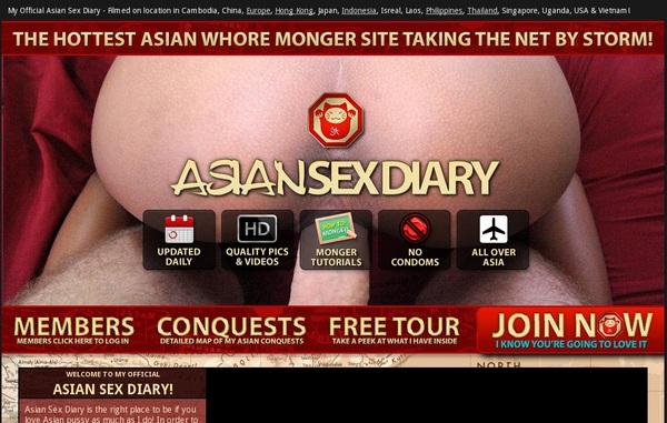 Asiansexdiary.com Discounted Membership