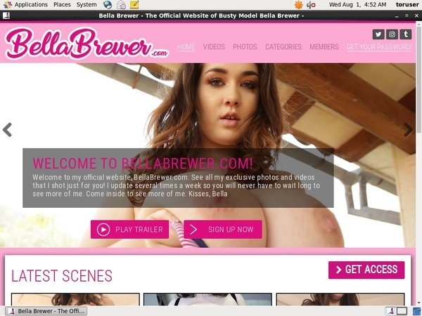Bella Brewer Using Pay Pal