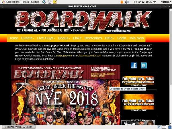 Boardwalkbar Free Trial Signup