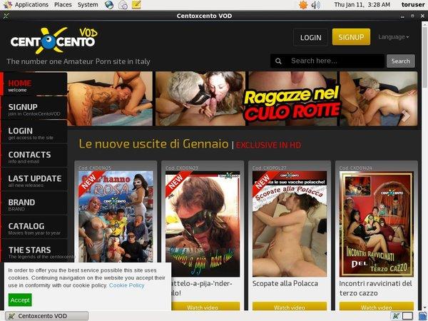Centoxcentovod.com Contraseña