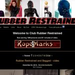 Club Rubber Restrained Signup Page