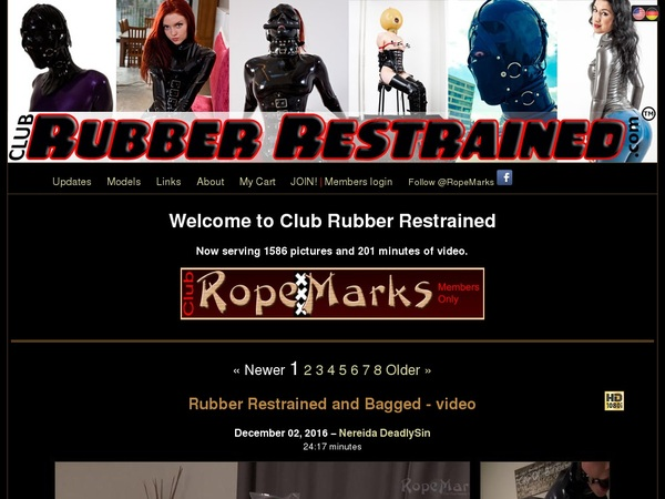 Club Rubber Restrained Video
