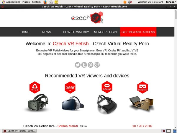 Cracked Czech VR Fetish Account