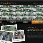 Czech Solarium Discount Monthly