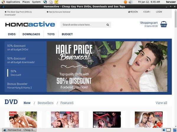Free Premium Homoactive Accounts