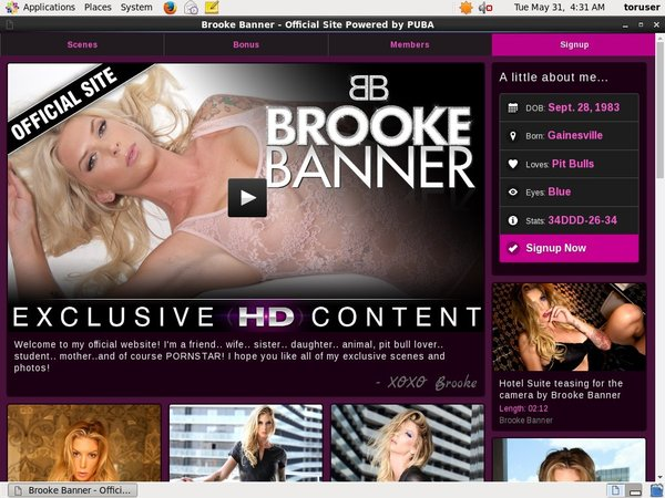 Free Trial For Brooke Banner