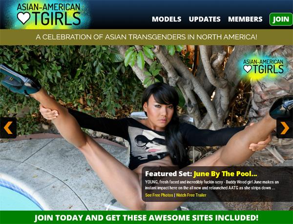 Get Asian American TGirls Discount Deal