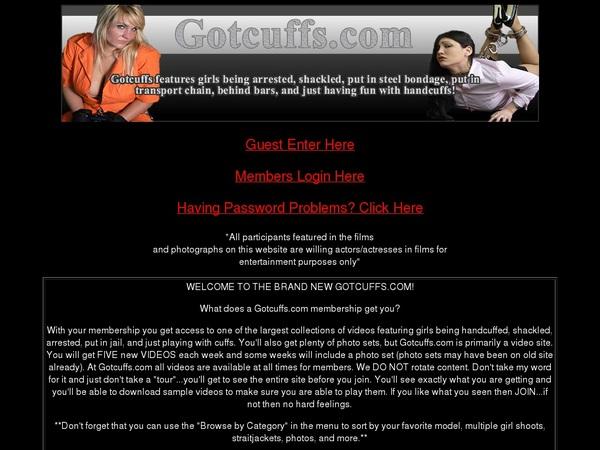 Gotcuffs Free Trial Tour