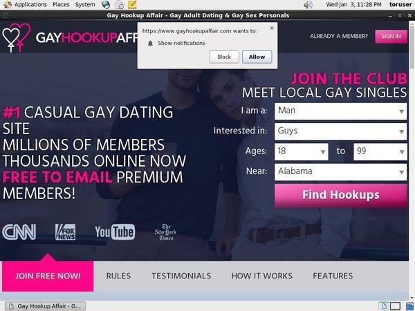 Is Gay Hookup Affair Real