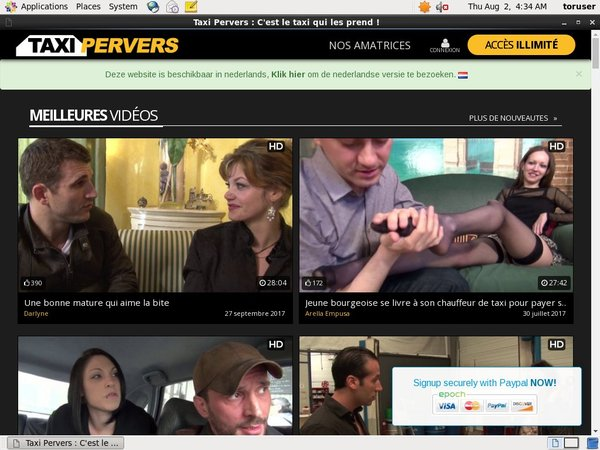 Join Pervers Taxi Free