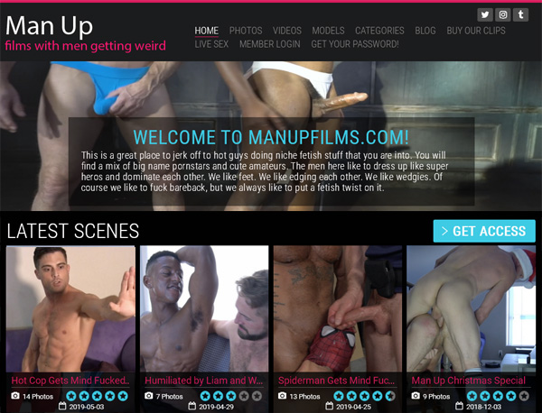 Man Up Films Free Trial Signup
