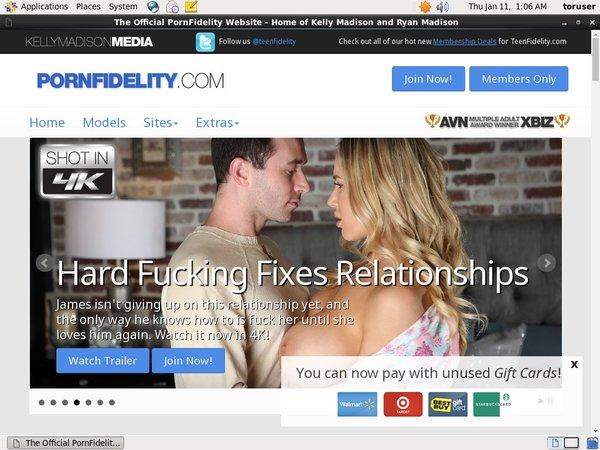Pornfidelity Without CC