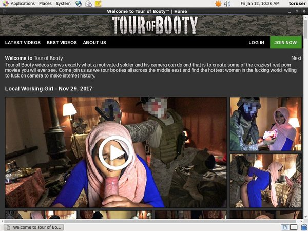 Promo Code Tour Of Booty
