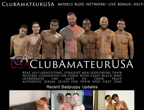 Sign Up To Clubamateurusa.com