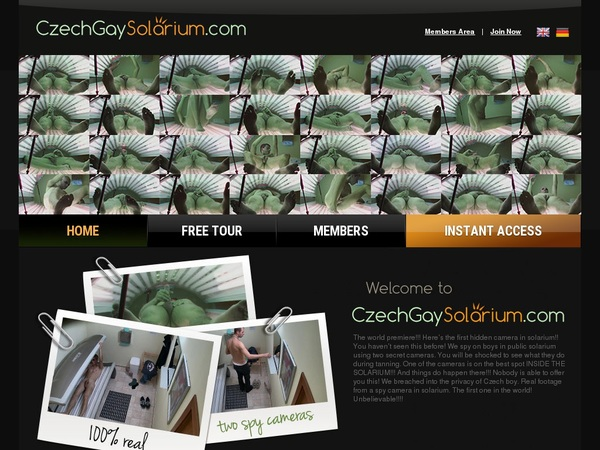 Solarium Gay Czech Sign Up