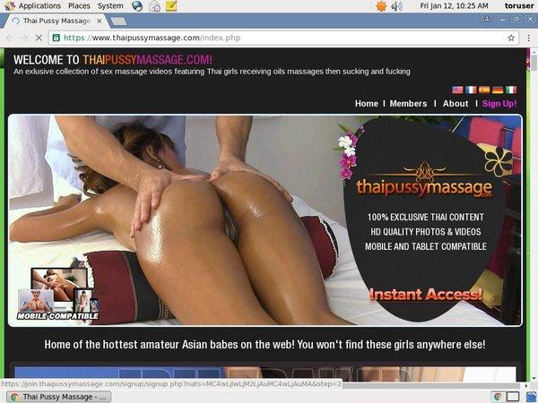 Thaipussymassage Freeones