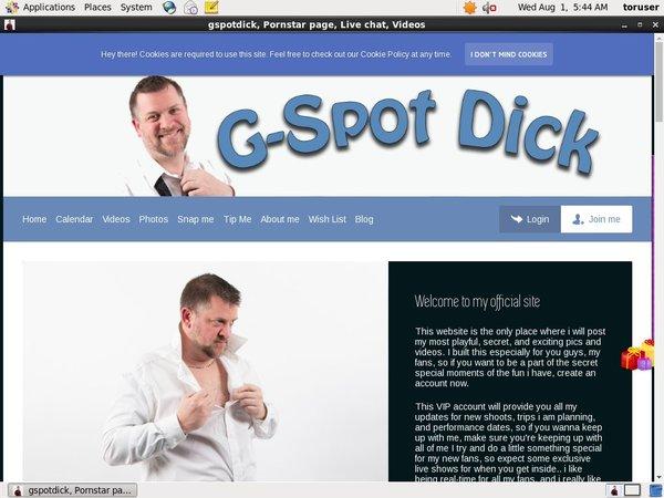 Trial Membership For Gspotdick.com