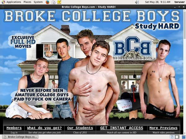 Broke College Boys Trial Login