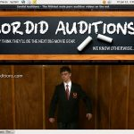 Sordid Auditions With Mastercard