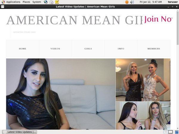 American Mean Girls Discount Deal Link