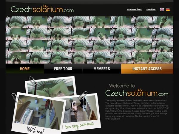 Account Premium Czech Solarium