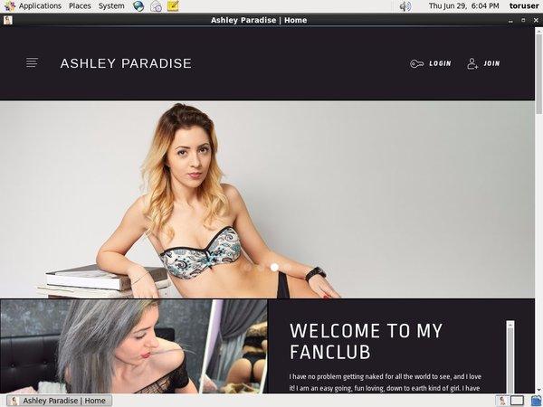 Ashleyparadise 注册帐号