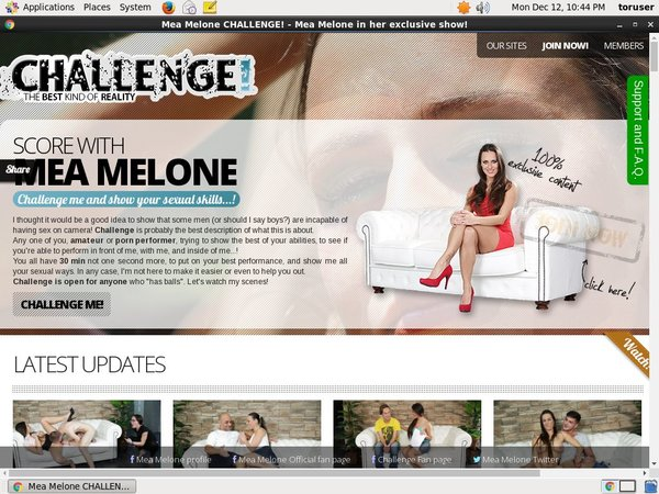 Melone Challenge Payment Form