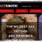Alt Erotic Discount Promo