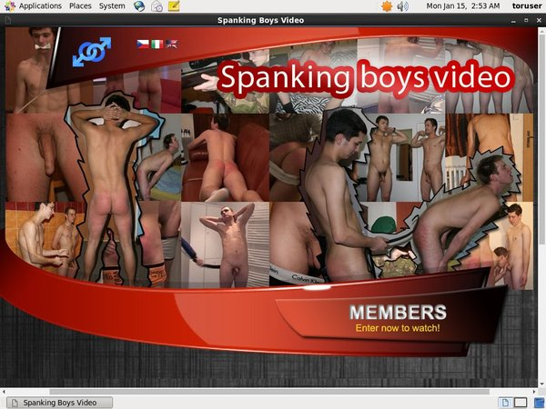 Spanking Boys Video Accept Paypal