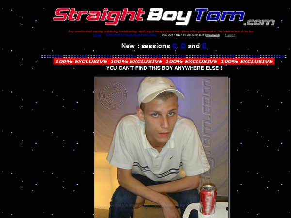 Discount Straight Boy Tom Trial Offer