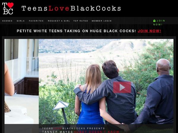 Teensloveblackcocks.com Network Login