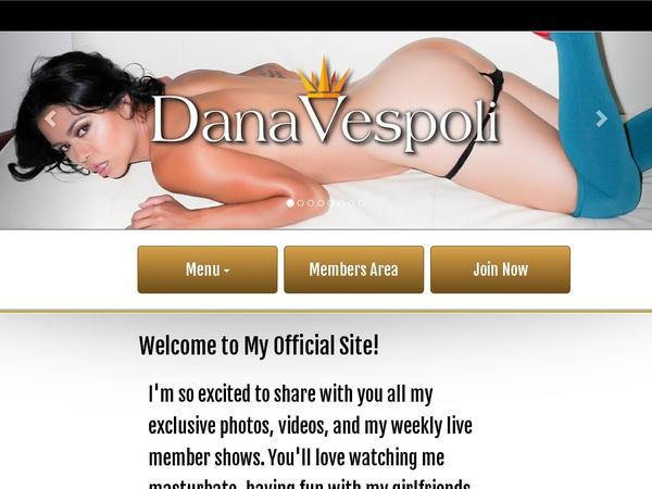 Dana Vespoli Link Discount