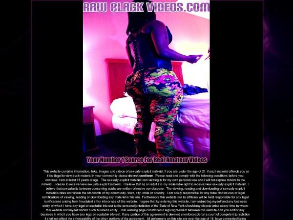 Free Raw Black Videos Promo Code