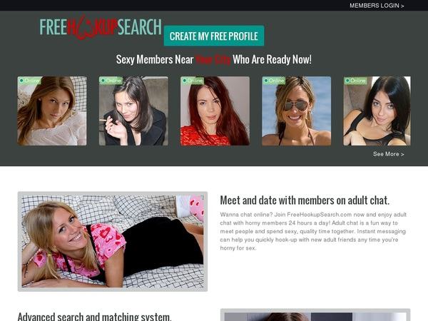 Free Hookup Search Discount Today
