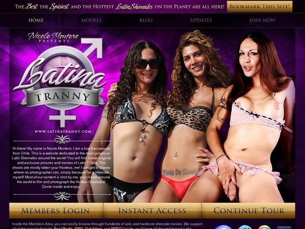 Premium Latinatranny.com Accounts Free