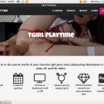 Tgirl Play Time Porn Hd