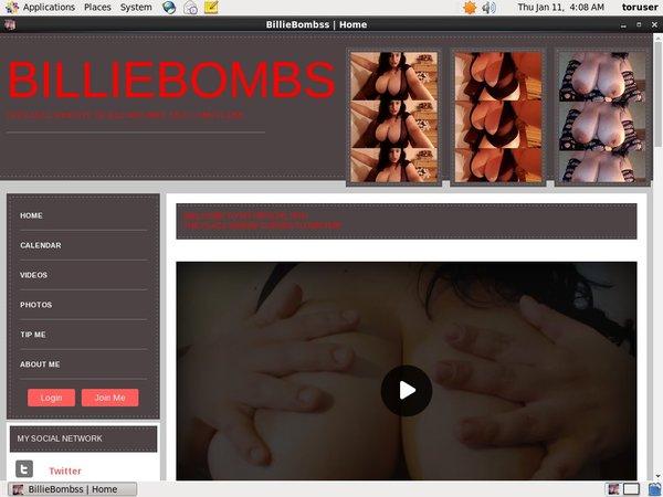 BillieBombss Free Porn