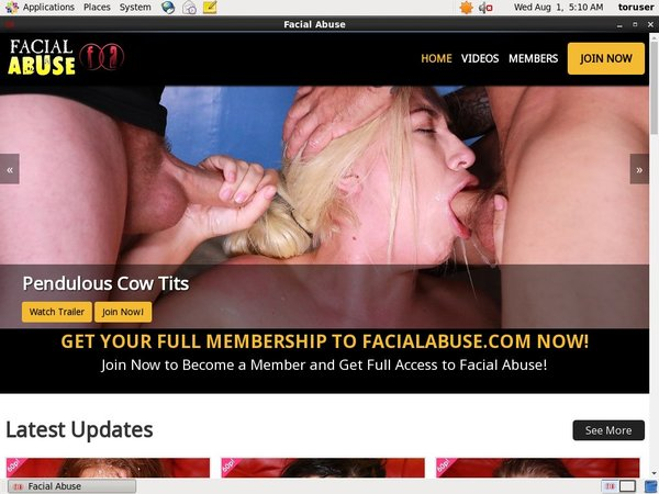Facial Abuse Free Trial Offer