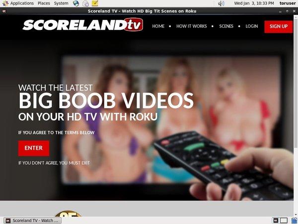 Paypal Signup Scorelandtv.com