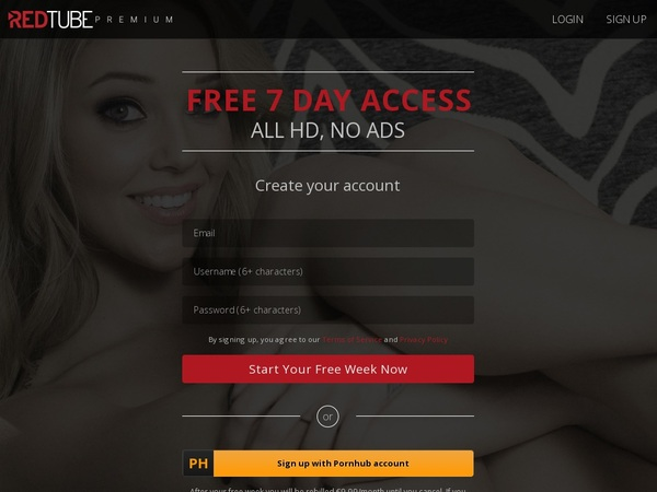 Free Red Tube Porn Accounts