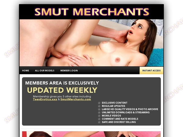 New Smut Merchants Promo Code