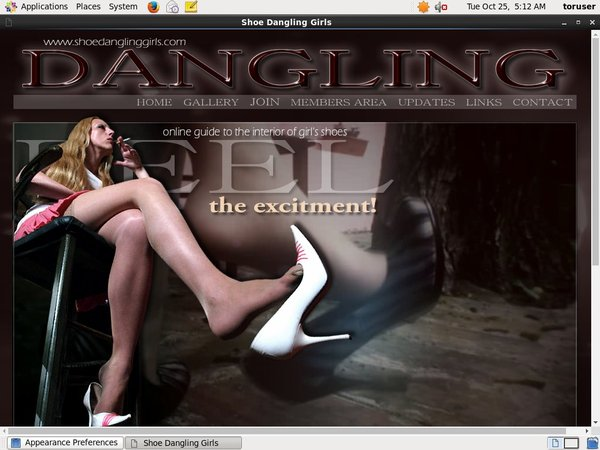 Get Free Shoe Dangling Girls Account