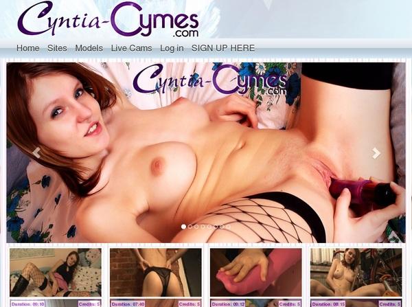 Cyntia Cymes Free Scene
