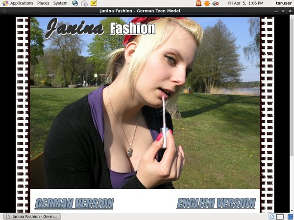 Janina Fashion Register
