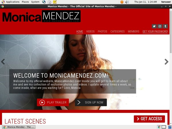 Monicamendez.com Free Trial Promotion