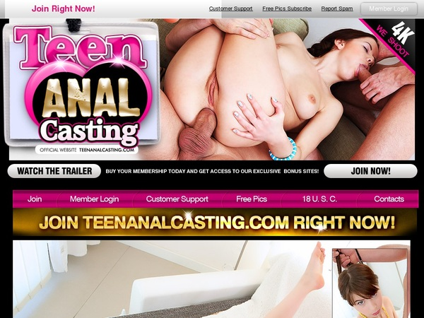 Teen Anal Casting Discount Offer 2018