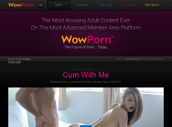 Wow Porn Discount Rate