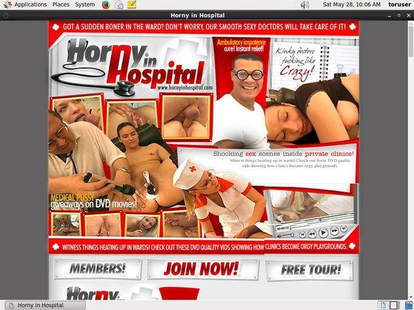 New Free Horny In Hospital Account