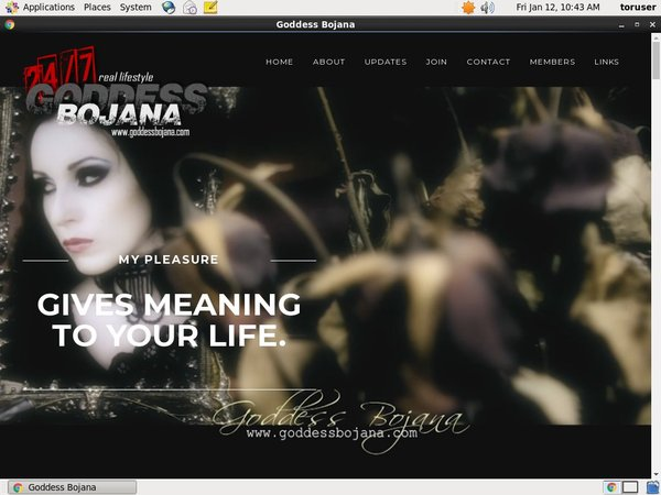 Get Into Goddess Bojana Free